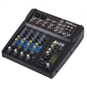 מיקסר קומפקטי 6-ערוצים ZMX862 Alto