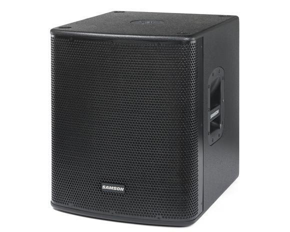 רמקול סאב מוגבר SAMSON Auro D1500 1,000 watts