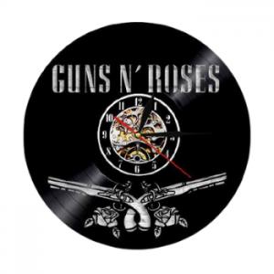 שעון תקליט Guns N Rose