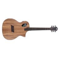 גיטרה אקוסטית מוגברת MICHAEL KELLY Forte Port ZebraTop