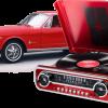 פטיפון רטרו רכב IONaudio Mustang LP