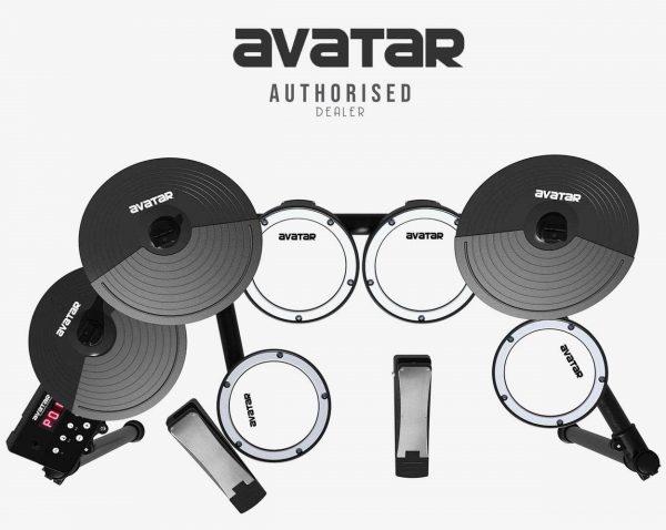 תופים אלקטרונים AVATAR SD61-4