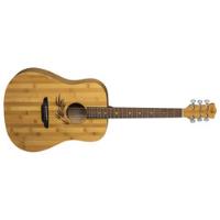 גיטרה אקוסטית WL BAMBOO DREAD Luna