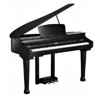 פסנתר כנף חשמלי שחור KURZWEIL KAG100