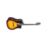 גיטרה אקוסטית מוגברת Shoulder Stagg