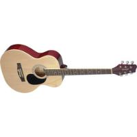 גיטרה אקוסטית גוון עץ STAGG