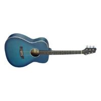 גיטרה אקוסטית כחולה STAGG