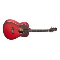 גיטרה אקוסטית אדום דהוי STAGG