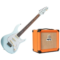 ערכת גיטרה חשמלית מגבר ואביזרים