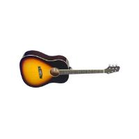 גיטרה אקוסטית dreadnought Stagg