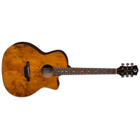 גיטרה אקוסטית Gloss Natural Luna