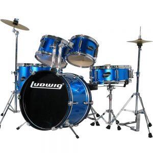 מערכת תופים לילדים LJR106 BLUE Ludwig