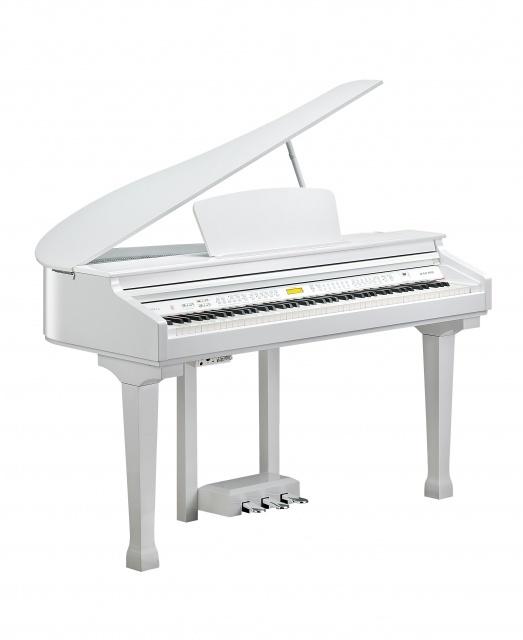 פסנתר כנף חשמלי לבן KURZWEIL KAG100