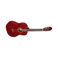 גיטרה קלאסית אדום בורדו Stagg