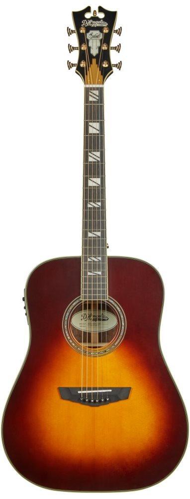 גיטרה אקוסטית מוגברת D'Angelico EXCEL