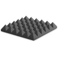 ספוג אקוסטי אפור פירמידות