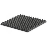 ספוג אקוסטי אפור פירמידות 5 cm