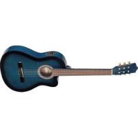גיטרה קלאסית מוגברת כחולה C546TCE Stagg