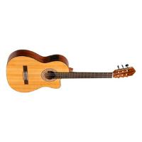 גיטרה קלאסית מוגברת Stagg SCL70 TCE-NAT