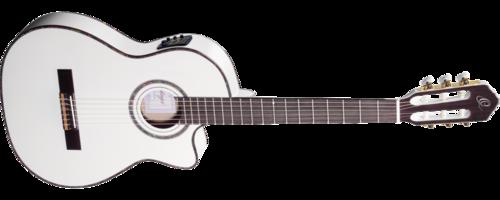 גיטרה קלאסית מוגברת RCE145WH ORTEGA