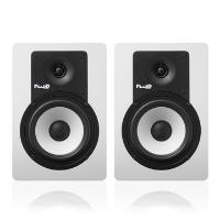 """מוניטורים """"5 לבנים Fluid Audio C5W"""