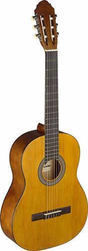גיטרה קלאסית שמאלית בגודל 3/4 חומה