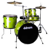 מערכת תופים ירוקה 4 חלקים DDrum