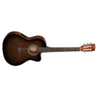 גיטרה קלאסית חומה מוגברת CORT JADE