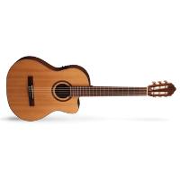 גיטרה קלאסית דקה מוגברת CORT AC-160CFTL