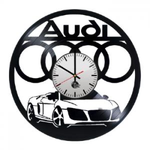 שעון תקליט האודי