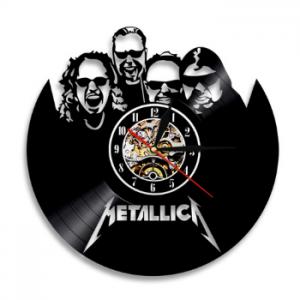 שעון תקליט Metallica מטאליקה