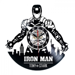 שעון תקליט Iron man