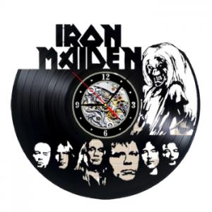שעון תקליט Iron Maiden