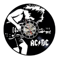 שעון תקליט AC/DC