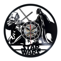 שעון תקליט Star wars