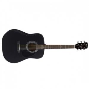 גיטרה אקוסטית שחורה CORT AD810-BKS